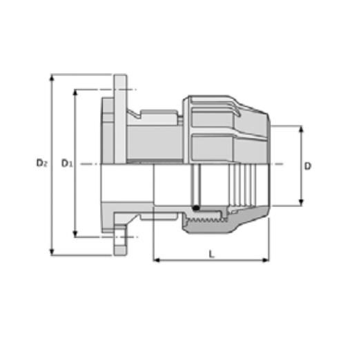 Großartig PP-Klemmverbinder für PE Rohre, Flanschkupplung | Kwerk Online Shop AR87